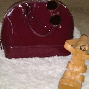JustFab Bags - Burgundy purse